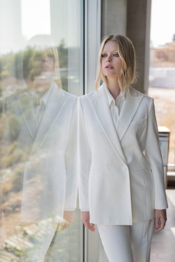 The Line Project Single-button suit