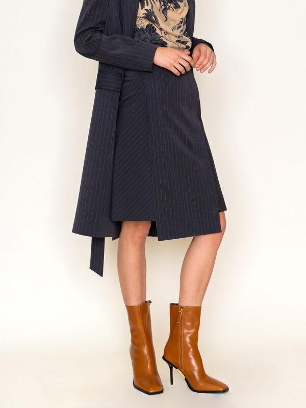 Staight skirt high waist line project