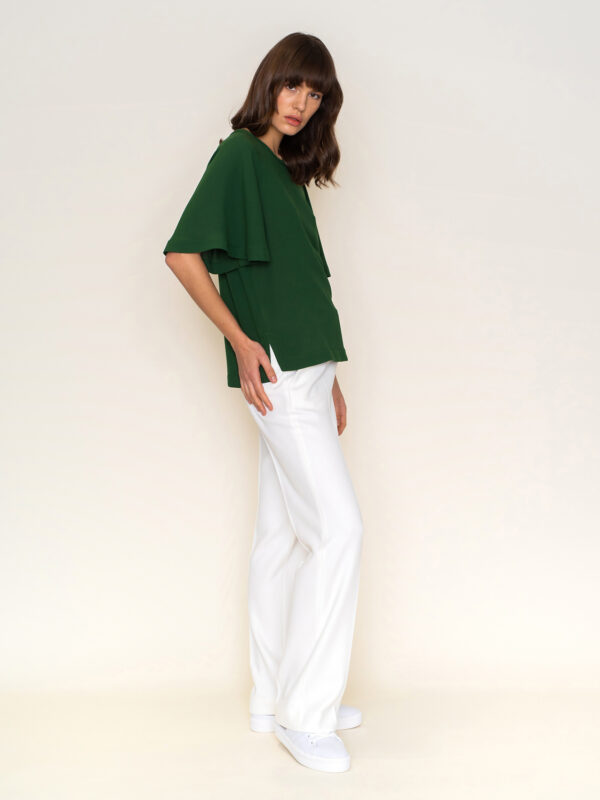 The Line Project loose mid sleeve top