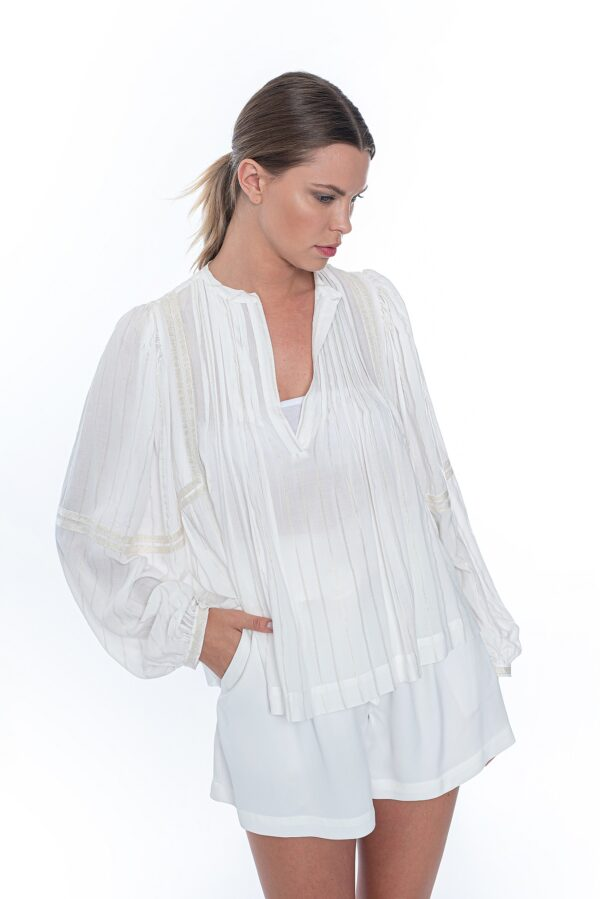 hippie blouse_SS21 the_line_project