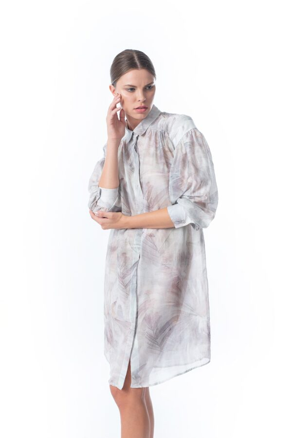 printed shirtdress_SS21 the_line_project